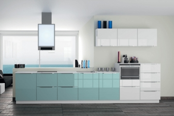 Amazing Contemporary Kitchen Mdf High Gloss Lacquered Futura Withhigh Gloss White Kitchens